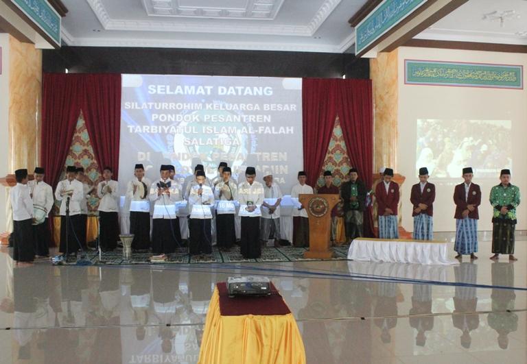 Silaturahim Ponpes Tarbiyatul Islam (PPTI) Al-Falah Salatiga di Ponpes Balekambang