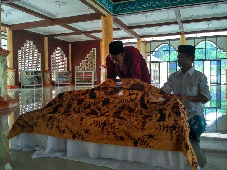 Ujian Praktik Santri Kelas 6 Madrasah Salafiyah TP. 2015/2016 Berjalan Lancar